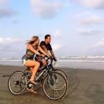 cyclingalongbeach