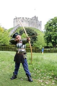 pratice archery