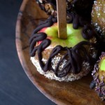 raw-dairy-free-caramel-apples-on-plate