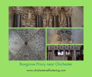 Boxgrove Priory detail 2017