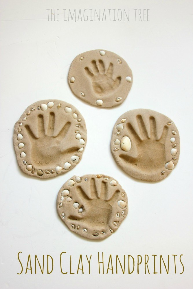 Sand-clay-handprint-keepsakes-craft