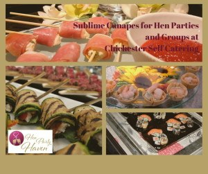 Sublime Canapes for Hen Parties