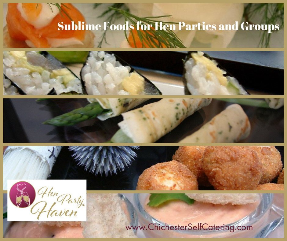 Sublime Foods for Hen Parties and Groups