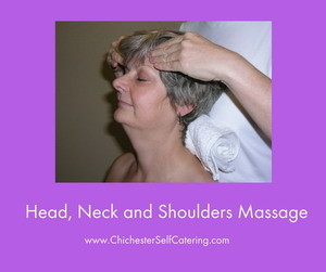 Head, Neck and Shoulders Massage