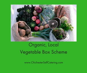 Organic, local vegetable box scheme
