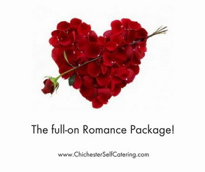 The full-on Romance Package!