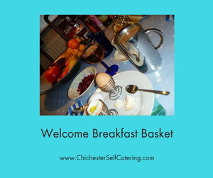 Welcome Breakfast Basket