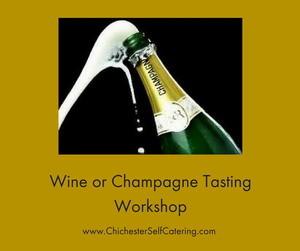 Wine or Champagne Tasting Workshop