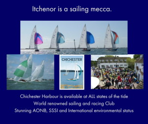 Itchenor is a sailing mecca.