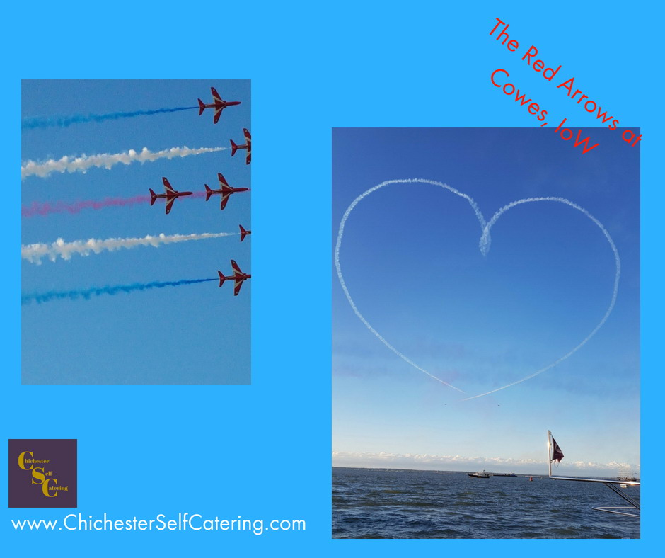 The Red Arrows at Cowes, IoW (2)heart