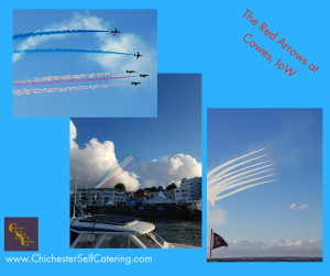 The Red Arrows at Cowes, IoW (3)