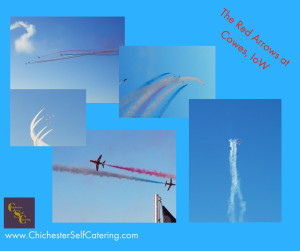The Red Arrows at Cowes, IoW.1