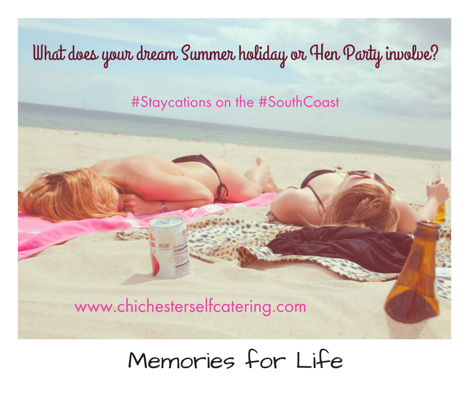 What is your dream Summer holiday or Hen Party involve-