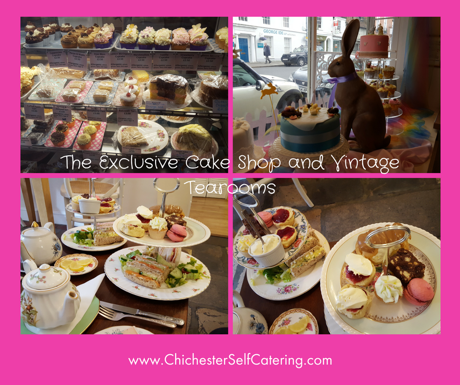 The Exclusive Cake Shop and Vintage Tearooms