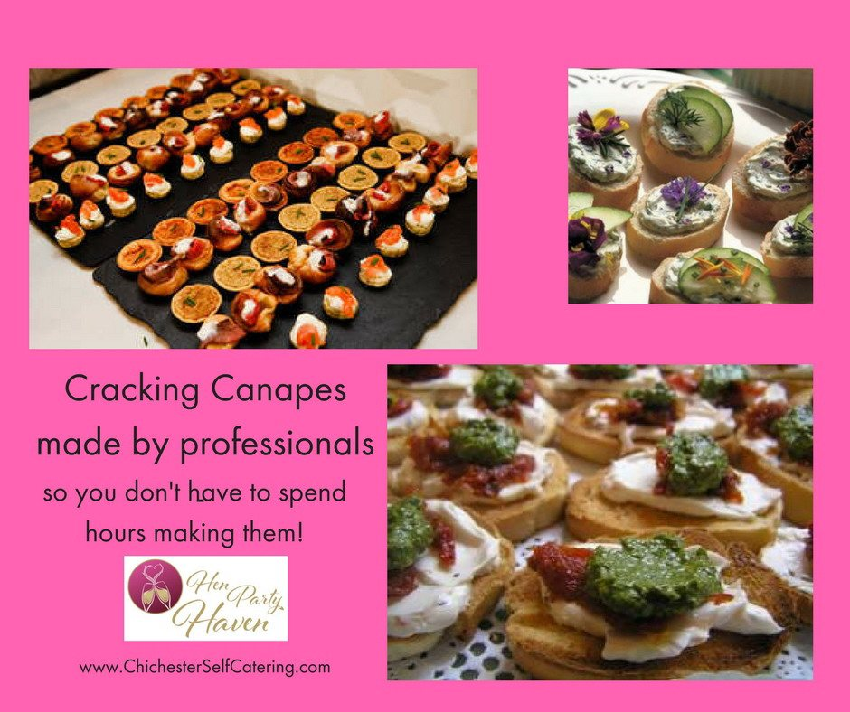 Cracking canapesby professionals