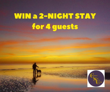Win a 2night stay.purplesunsetphotoonly